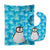Buy this Penguin Baby Bib & Burp Cloth BB6771STBU