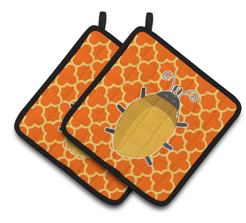 Buy this Beetle Pair of Pot Holders BB6772PTHD