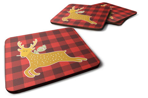 Buy this Deer Foam Coaster Set of 4 BB6773FC