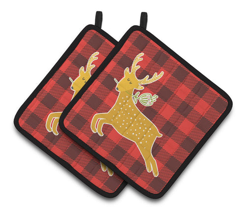 Buy this Deer Pair of Pot Holders BB6773PTHD