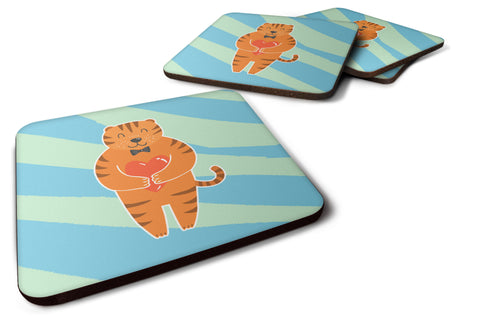 Buy this Tiger Foam Coaster Set of 4 BB6779FC