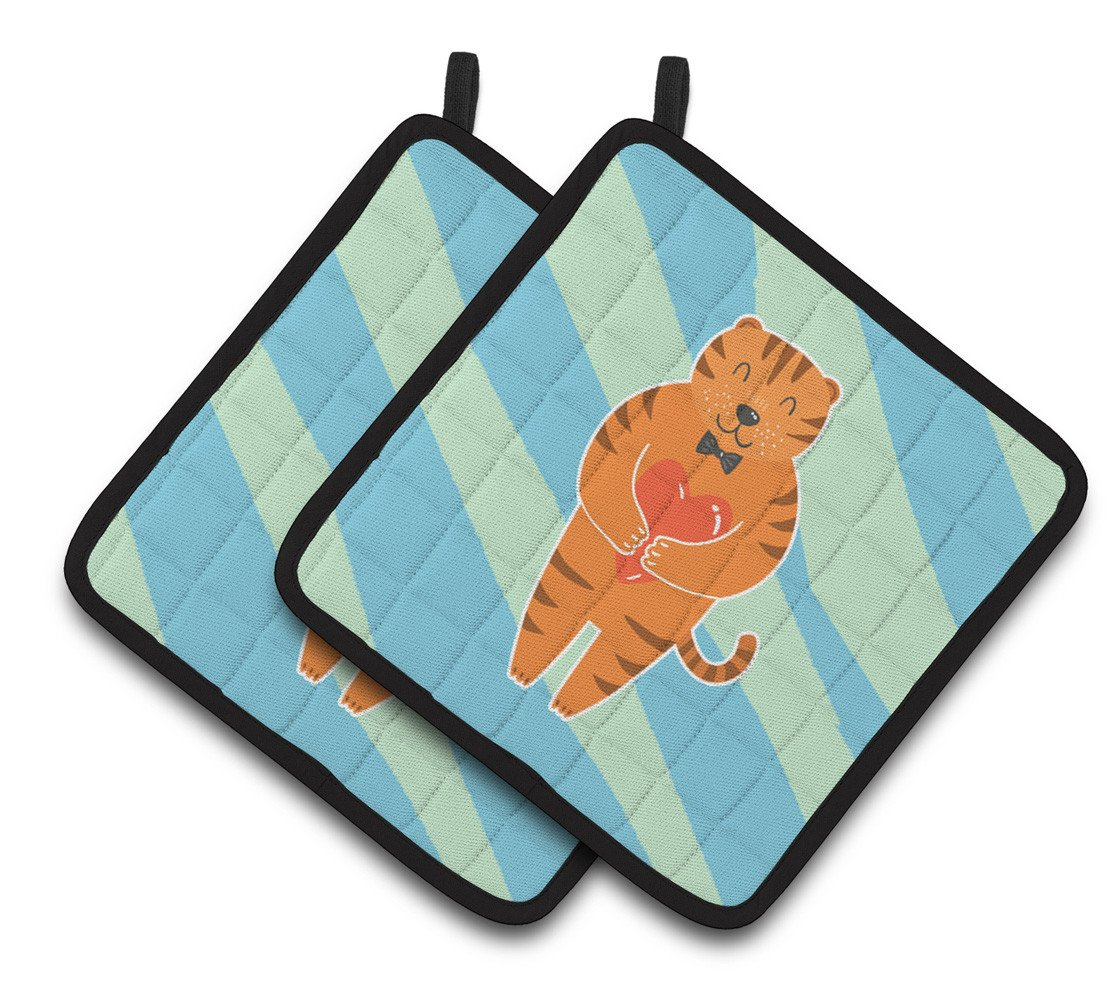 Buy this Tiger Pair of Pot Holders BB6779PTHD