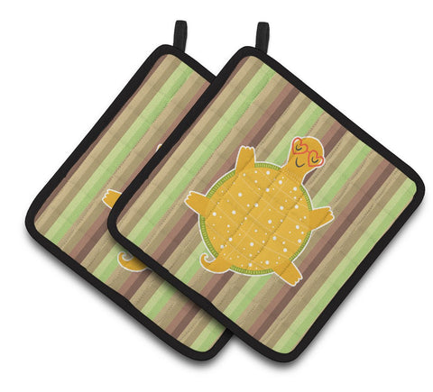 Buy this Turtle Pair of Pot Holders BB6780PTHD