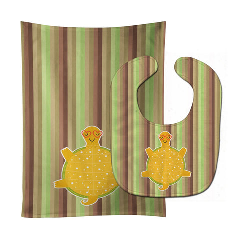 Buy this Turtle Baby Bib & Burp Cloth BB6780STBU