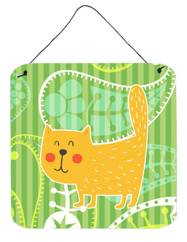 Buy this Cat on Paisley Wall or Door Hanging Prints BB6785DS66