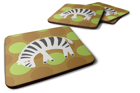 Buy this Zebra Foam Coaster Set of 4 BB6787FC