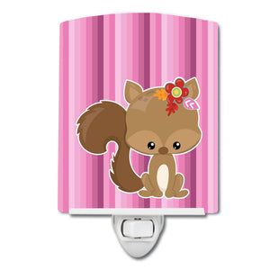 Buy this Squirrel Ceramic Night Light BB6793CNL