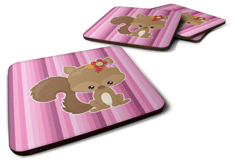Buy this Squirrel Foam Coaster Set of 4 BB6793FC
