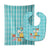 Blue Bird Baby Bib & Burp Cloth BB6795STBU by Caroline's Treasures