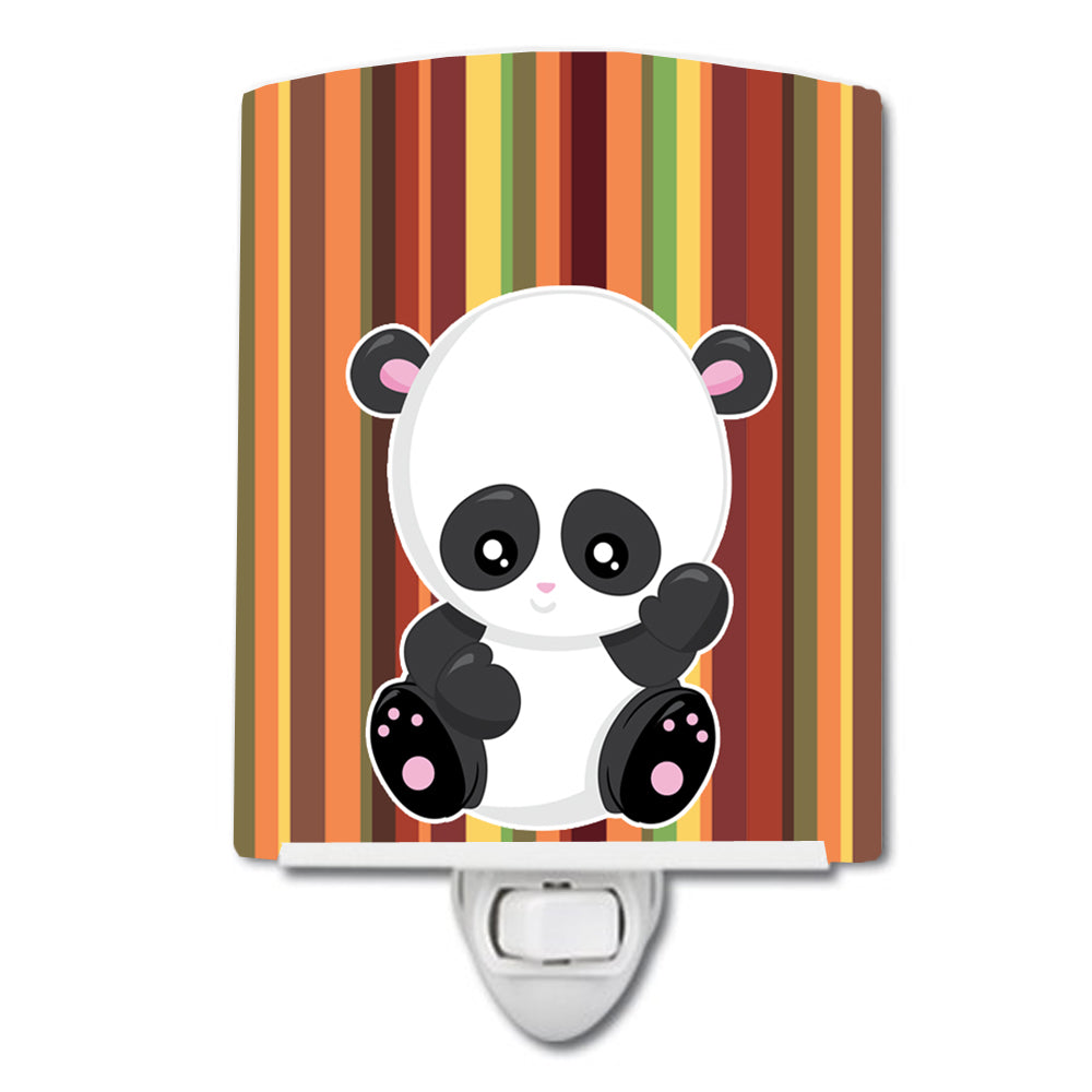 Buy this Striped Panda Ceramic Night Light BB6802CNL