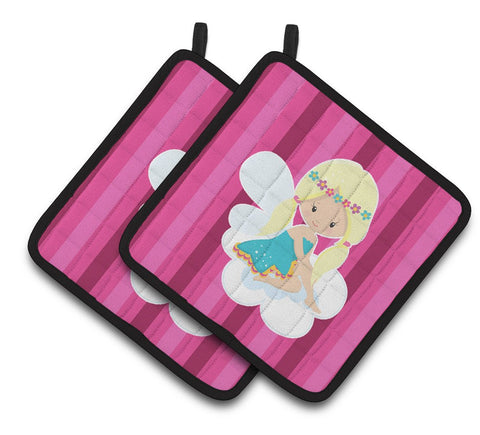 Buy this Blonde Fairy Pair of Pot Holders BB6808PTHD