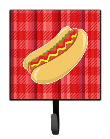 Buy this Hot Dog Plaid Leash or Key Holder BB6813SH4