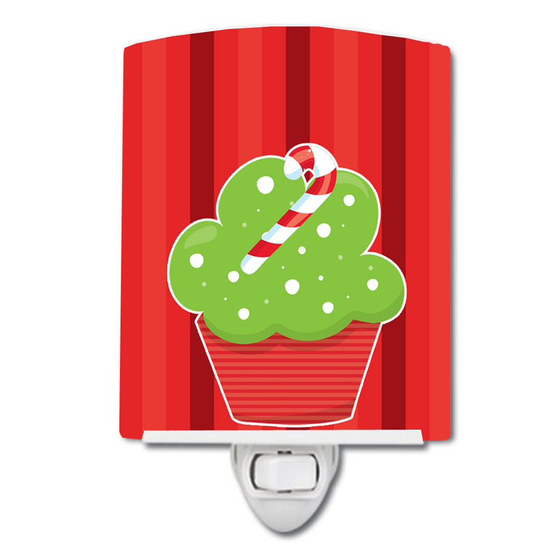 Buy this Christmas Cupcake Ceramic Night Light BB6814CNL