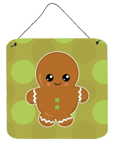 Buy this Christmas Gingerbread Man Wall or Door Hanging Prints BB6816DS66