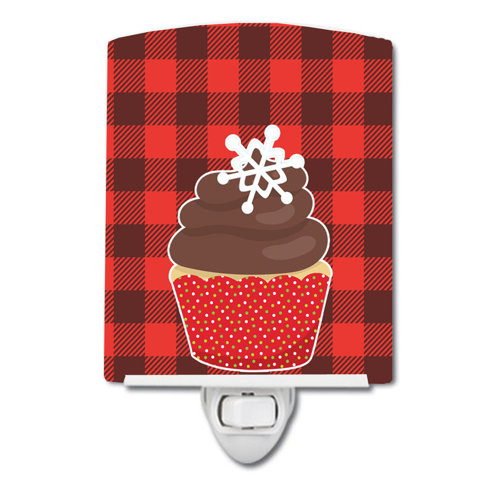 Buy this Christmas Cupcake Ceramic Night Light BB6817CNL