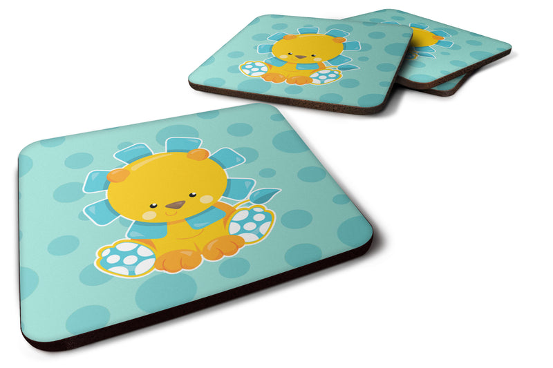 Buy this Boy Lion Foam Coaster Set of 4 BB6823FC