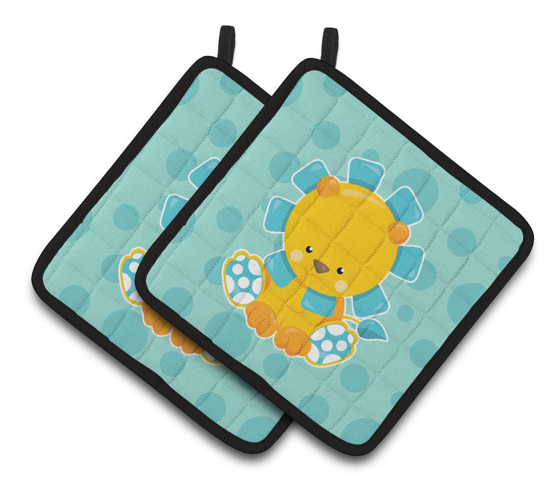 Buy this Boy Lion Pair of Pot Holders BB6823PTHD