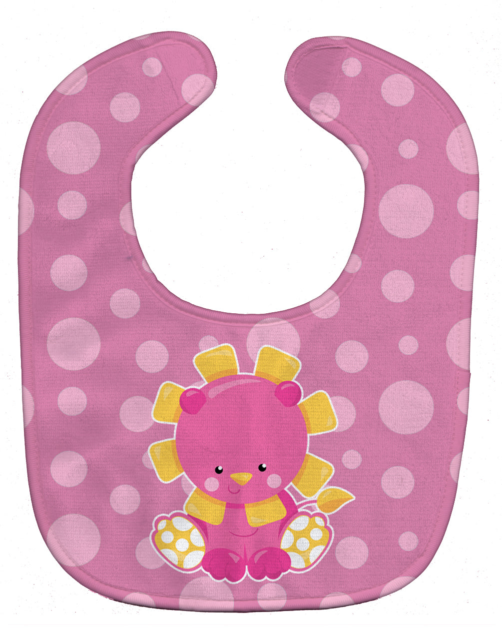 Buy this Girl Lion Baby Bib BB6829BIB