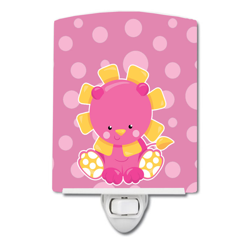 Buy this Girl Lion Ceramic Night Light BB6829CNL