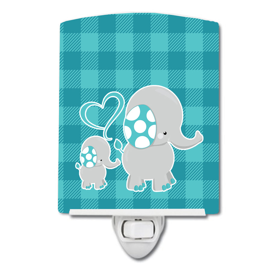 Buy this Mommy and Baby Elephant Ceramic Night Light BB6834CNL