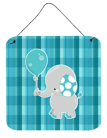 Buy this Elephant with Balloon Wall or Door Hanging Prints BB6835DS66