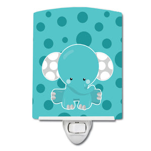 Buy this Polkadot Elephant Ceramic Night Light BB6836CNL