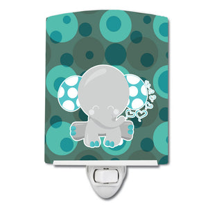 Buy this Polkadot Naptime Elephant Ceramic Night Light BB6838CNL