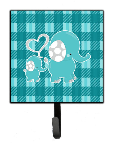Buy this Plaid Momma and Baby Elephant Leash or Key Holder BB6839SH4