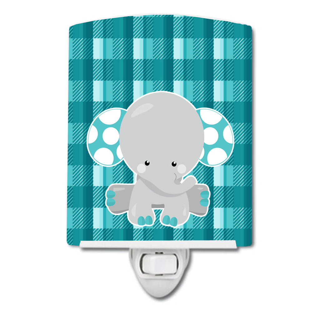 Buy this Plaid Elephant Ceramic Night Light BB6840CNL