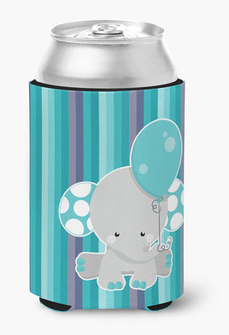 Buy this Grey Elephant with Balloon Can or Bottle Hugger BB6842CC