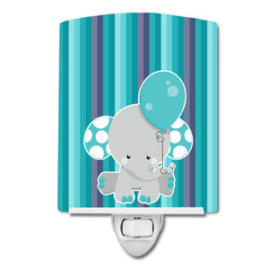 Buy this Grey Elephant with Balloon Ceramic Night Light BB6842CNL