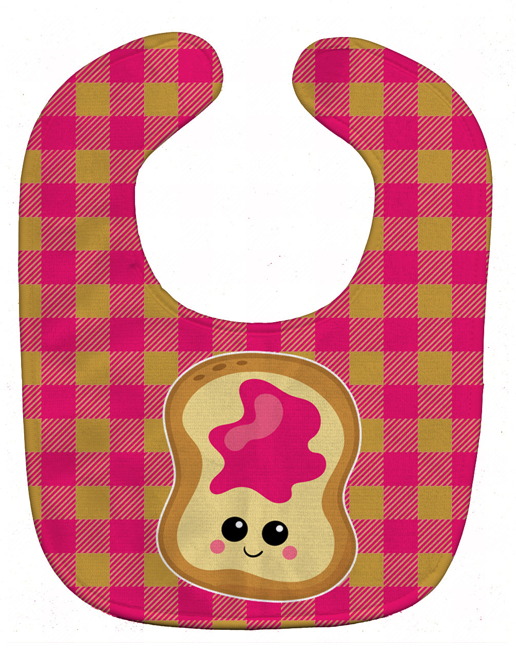 Jelly Toast Baby Bib BB6844BIB by Caroline's Treasures