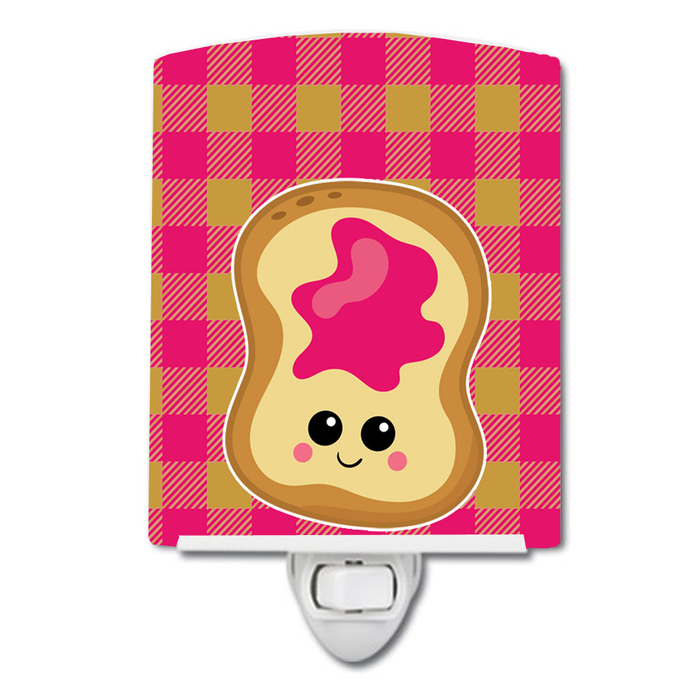 Jelly Toast Ceramic Night Light BB6844CNL by Caroline's Treasures