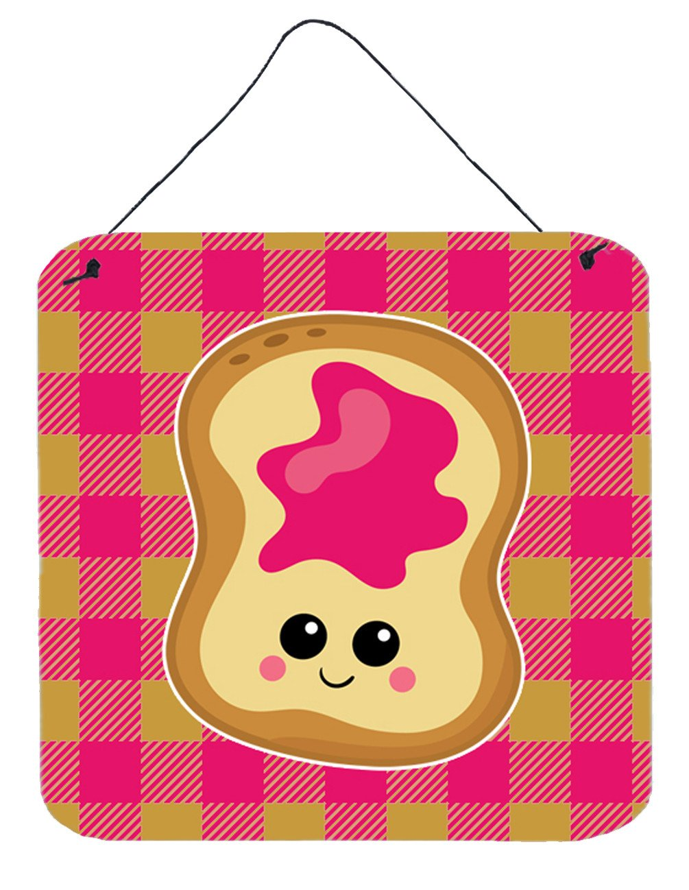 Jelly Toast Wall or Door Hanging Prints BB6844DS66 by Caroline's Treasures