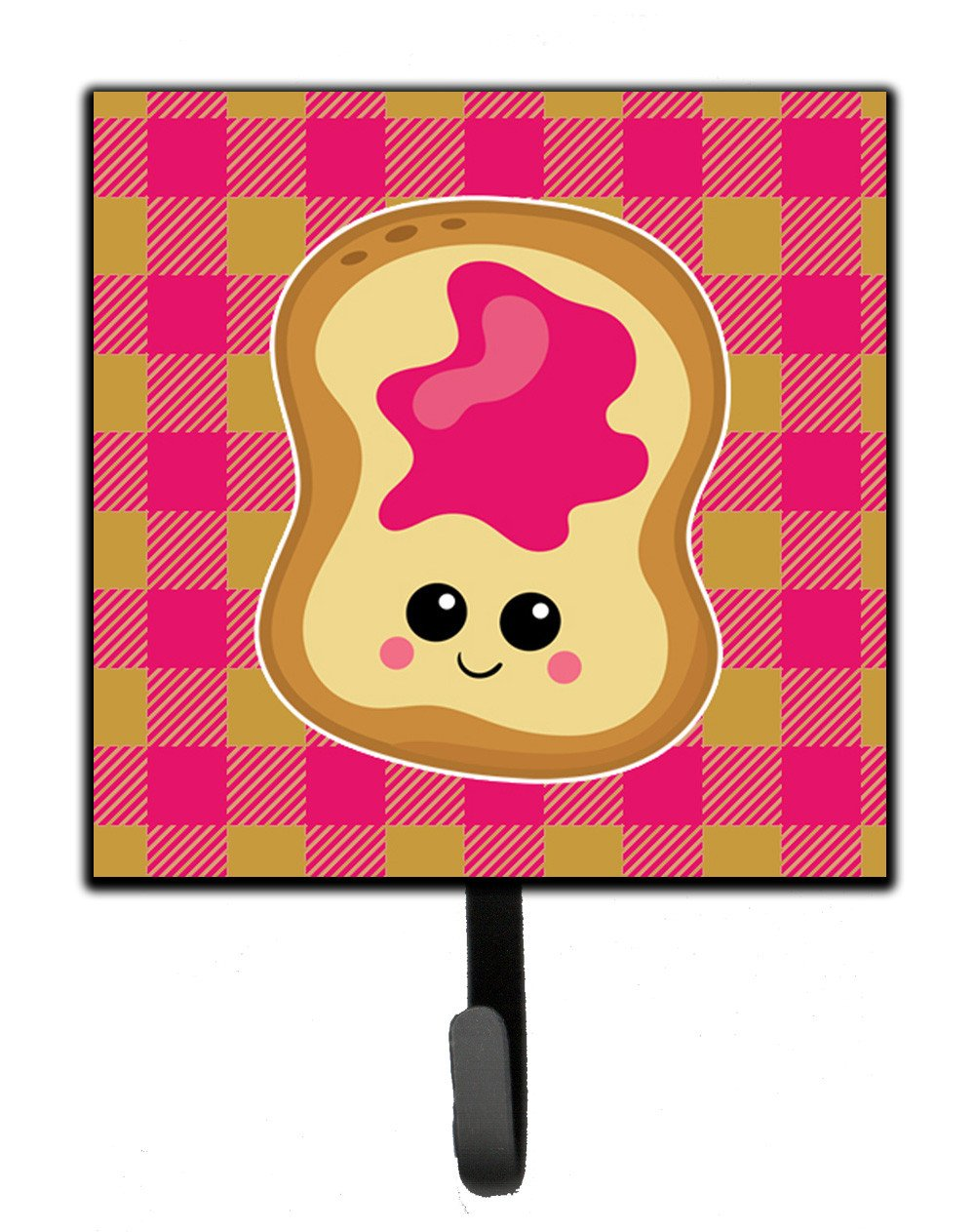 Jelly Toast Leash or Key Holder BB6844SH4 by Caroline's Treasures