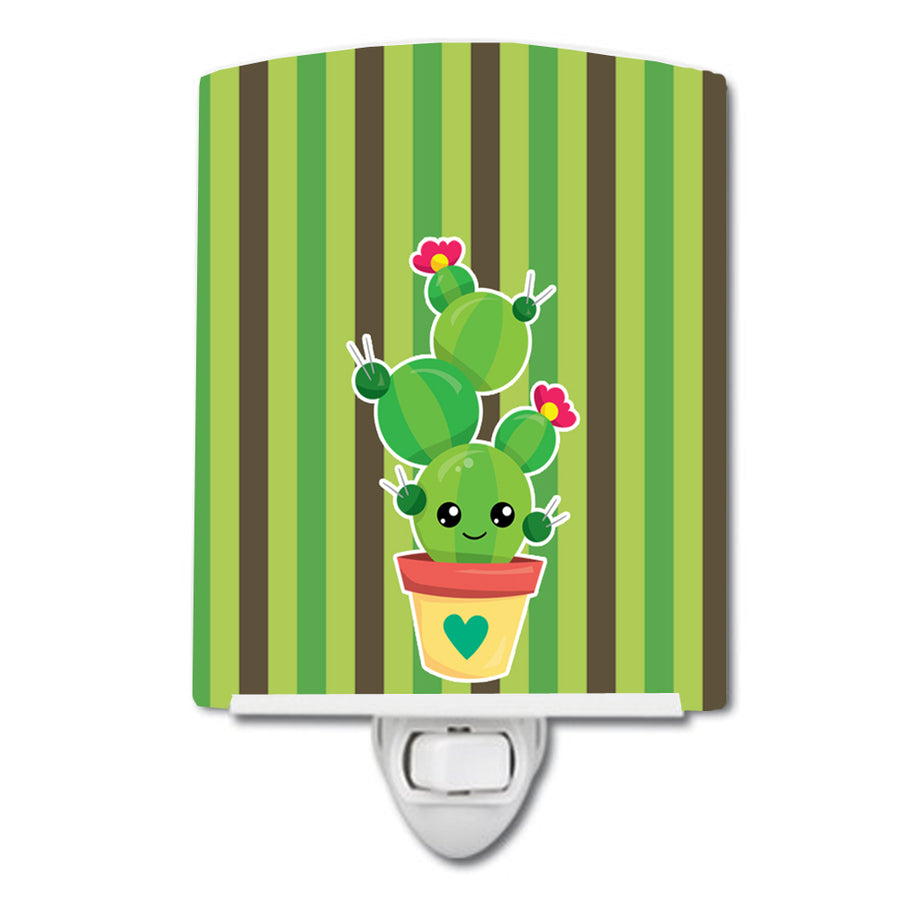 Buy this Cactus Stripe Ceramic Night Light BB6847CNL