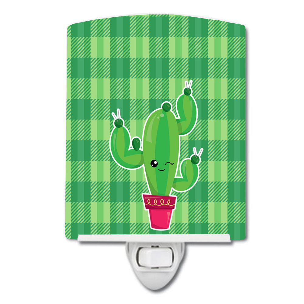 Buy this Cactus Plaid Ceramic Night Light BB6848CNL