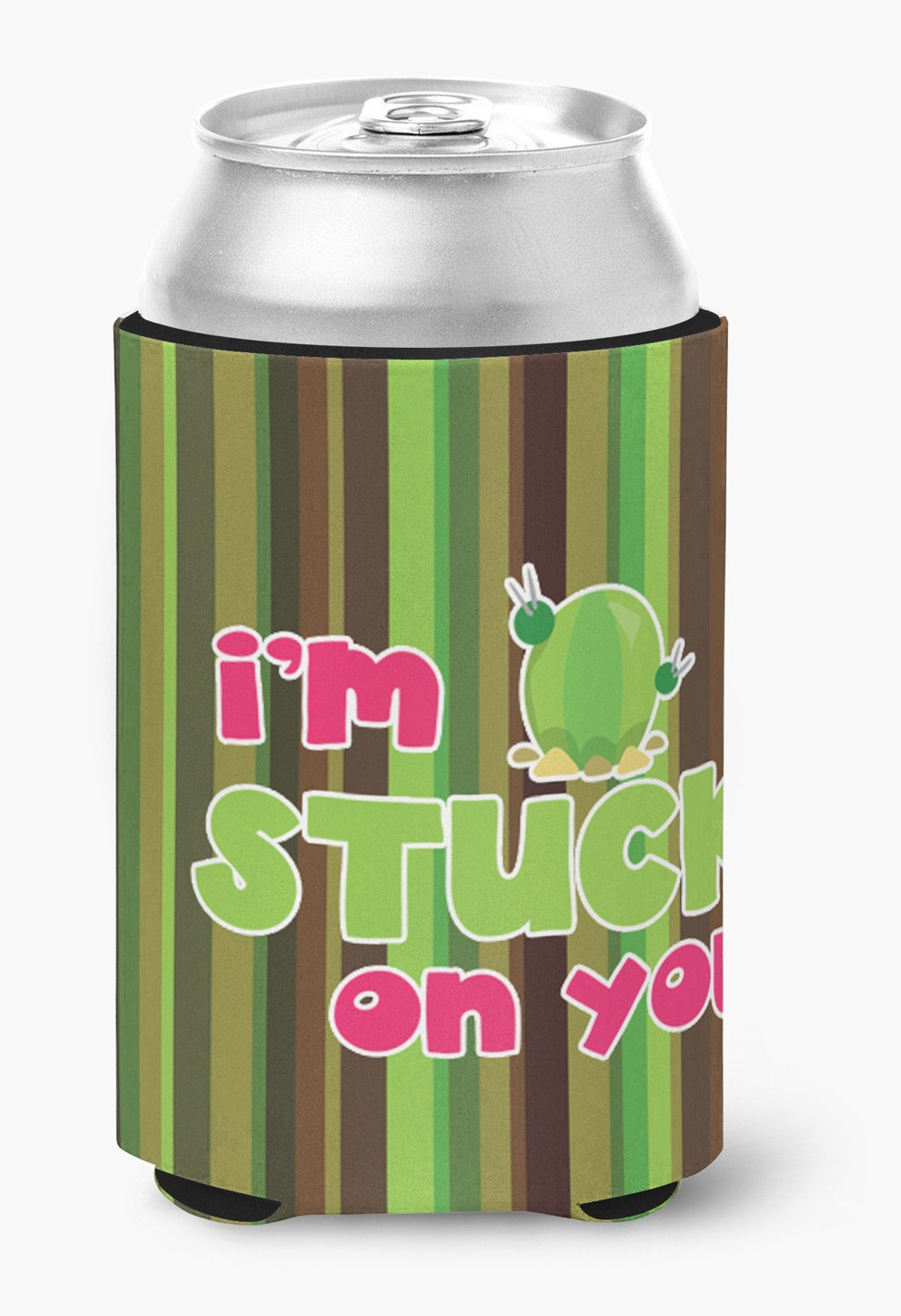 Cactus I'm Stuck on You Can or Bottle Hugger BB6851CC by Caroline's Treasures