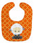 Buy this Sheep on Orange Quatrafoil Baby Bib BB6872BIB