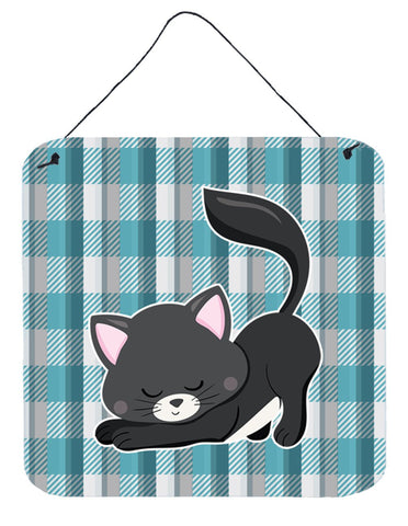 Buy this Little Black Cat Kitten Wall or Door Hanging Prints BB6881DS66