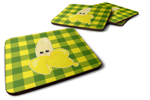 Buy this Going Bananas Foam Coaster Set of 4 BB6889FC