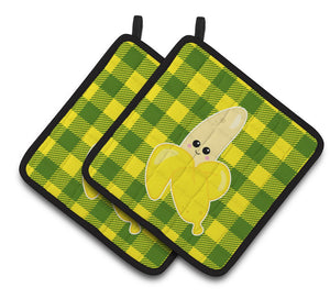 Buy this Going Bananas Pair of Pot Holders BB6889PTHD