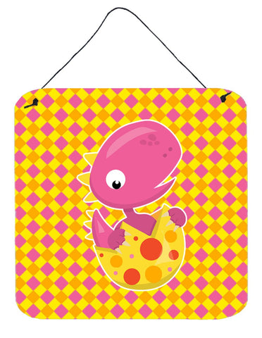 Buy this Baby T-Rex Dinosaur Hatching Wall or Door Hanging Prints BB6892DS66