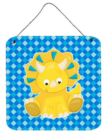 Buy this Triceratops Dinosaur Wall or Door Hanging Prints BB6894DS66