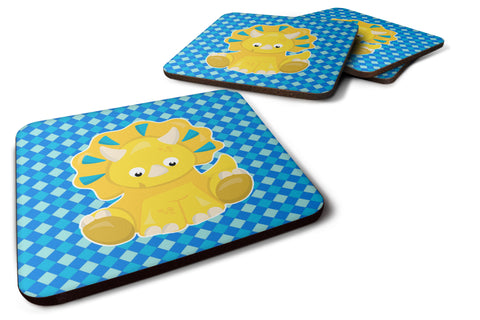 Buy this Triceratops Dinosaur Foam Coaster Set of 4 BB6894FC