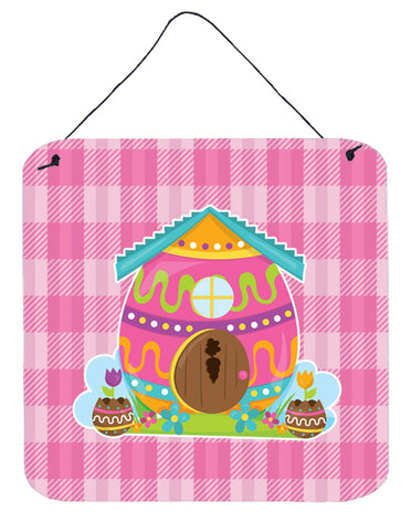 Buy this Easter Rabbit's House Wall or Door Hanging Prints BB6899DS66