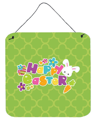 Buy this Happy Easter Green Quatrafoil Wall or Door Hanging Prints BB6900DS66