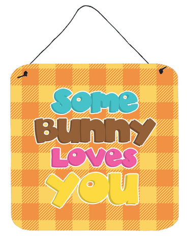 Buy this Easter Some Bunny Loves You Wall or Door Hanging Prints BB6902DS66