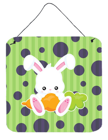 Buy this Easter Polkadot Rabbit Wall or Door Hanging Prints BB6903DS66