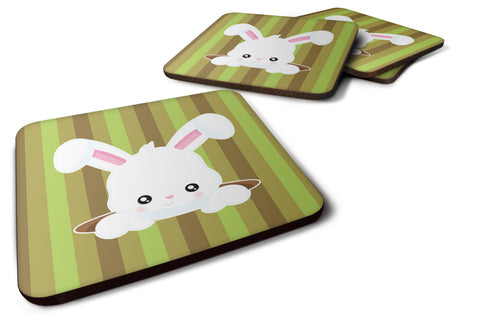 Buy this Easter Rabbit Hole Foam Coaster Set of 4 BB6904FC